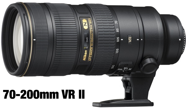 New Nikon 70-200mm VR II