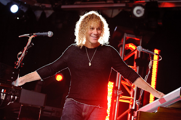 Photo: David Bryan (Bon Jovi) performs in New York City, 2010