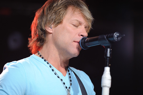 Photo: Bon Jovi performs in New York City, 2010