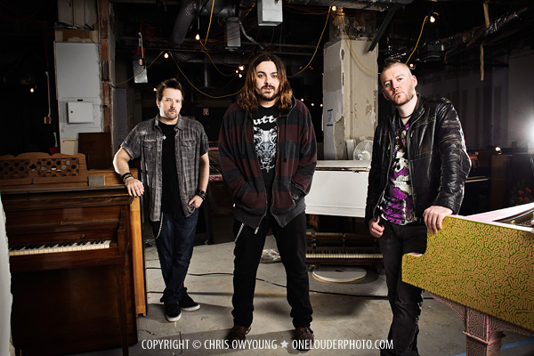 photo of the band Seether